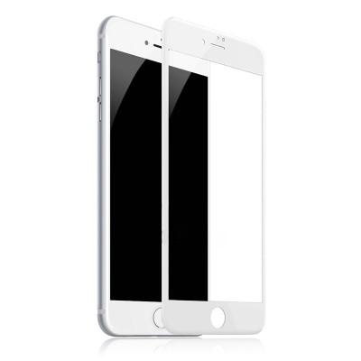 Захисне скло 3D Baseus iPhone 7/8 Plus 0,3mm Anti-Blue White