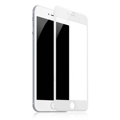 Захисне скло 3D Baseus iPhone 7/8 Plus 0.3mm White