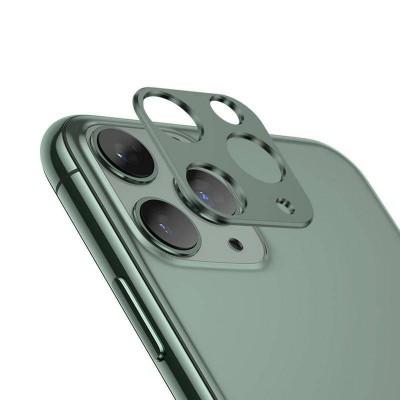 Захисне скло на камеру для iPhone 11 Pro/Pro Max Green