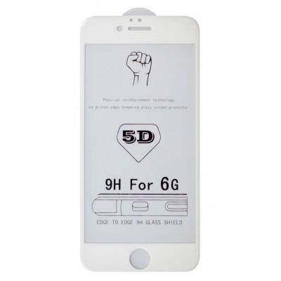 Захисне скло 5D iPhone 7 White