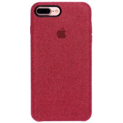 Накладка тканинна для iPhone 7/8 Plus Red