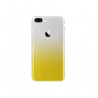 """Чехол """"силікон """"Fshang Qcolor iPhone 7 Plus Gold"""