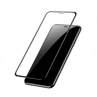 Захисне скло iPhone XS Max/iPhone 11 Pro Max  Full Screen (з ободком) Black