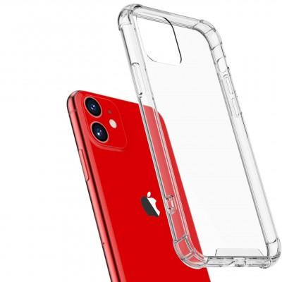 "Накладка Epic Ease з посиленими кутами для Apple iPhone 11 (6,1"")  TPU Transparent"