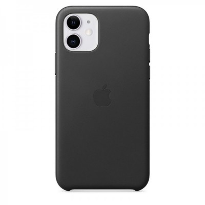 Накладка Leather Case Full для iPhone 11 Black