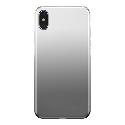 "Чехол ""силікон""Fshang Qcolor iPhone 7 Plus Black"