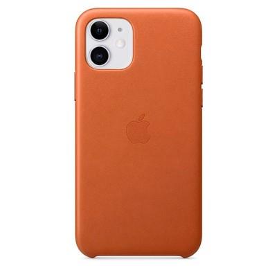Накладка Leather Case Full для iPhone 11 Brown