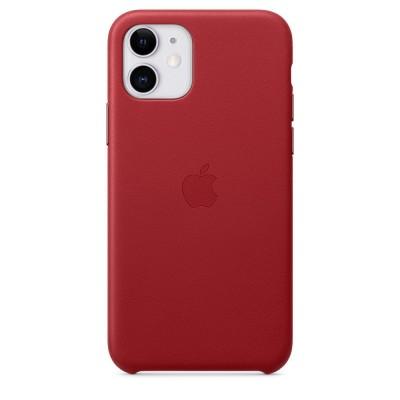 Накладка Leather Case Full для iPhone 11 Red