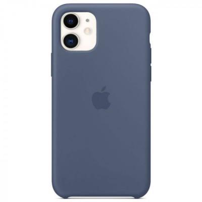 Накладка Silicone Case HC для iPhone 11 Alaska Blue