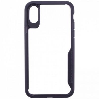 Чохол iPaky TPU+PC Luckcool Series iPhone X Black