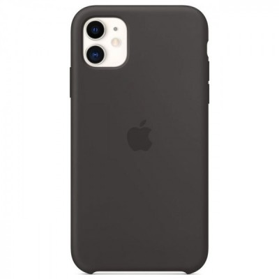 Накладка Silicone Case HC для iPhone 11 Black