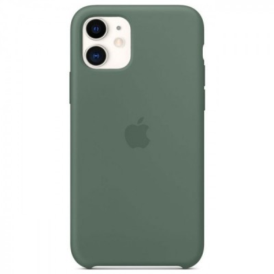 Накладка Silicone Case HC для iPhone 11 Pine Green