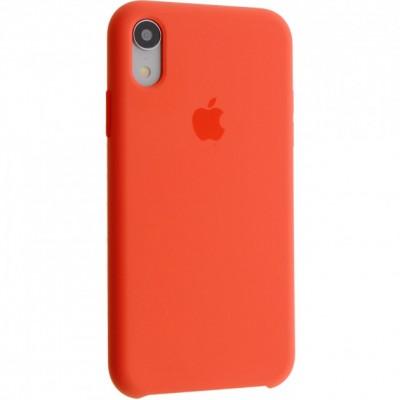Накладка Silicone Case для iPhone XR Nectarine