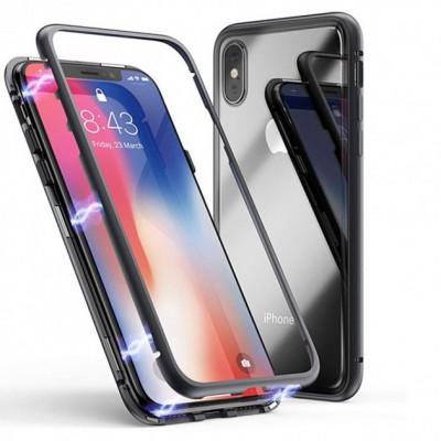 Чехол Kuvete iPhone XS Max (Бампер -Магніт) Black