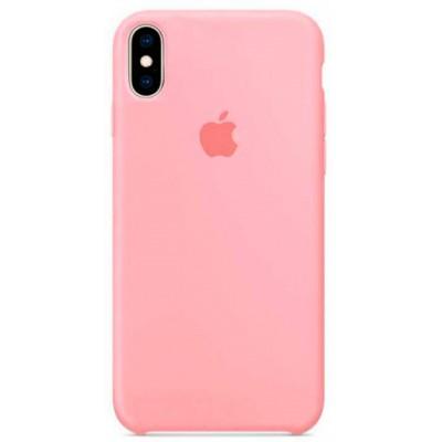 Накладка Silicone Case для iPhone XS Max Light Pink