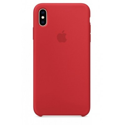 Накладка Silicone Case для iPhone XS Max Red