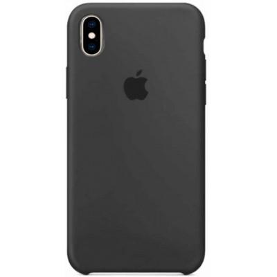 Накладка Silicone Case для iPhone XS Max Dark Grey