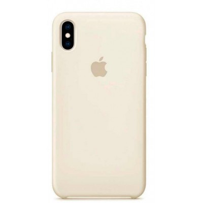 Накладка Silicone Case для iPhone XS Max Beige