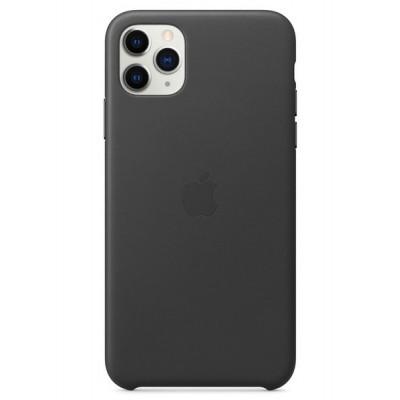 Накладка Leather Case для iPhone 11 Pro Black Original