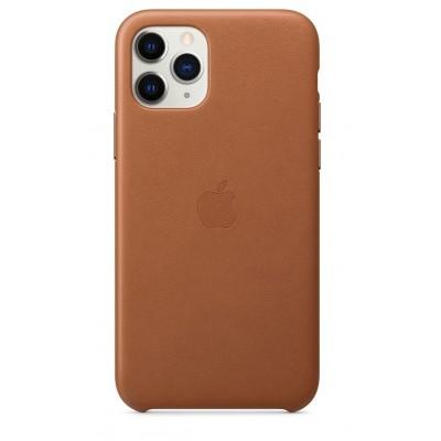 Накладка Leather Case для iPhone 11 Pro Brown