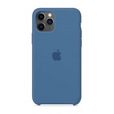 Накладка Silicone Case для iPhone 11 Pro Denim Blue