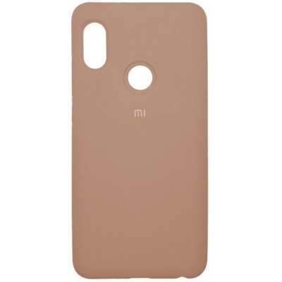 Накладка Silicone Cover для Xiaomi Redmi Note 7 Silky&Soft Touch Pink Sand