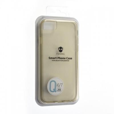 """Чехол """"силікон""""Fshang Qcolor iPhone 7 Gold"""