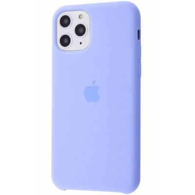 Накладка Silicone Case для iPhone 11 Pro Lilac Cream