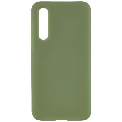Накладка Soft Touch для Xiaomi Mi A3 Olive