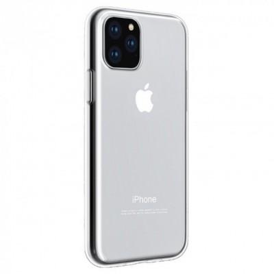 """Накладка G-Case для Apple iPhone 11 Pro Max """"силікон"""" Прозорий"""