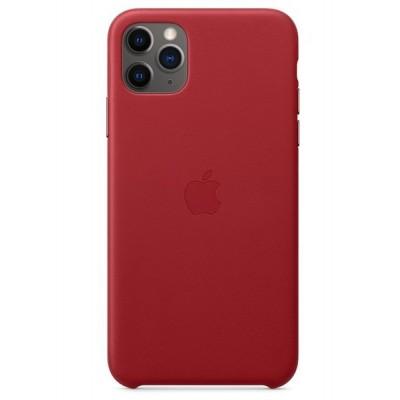 Накладка Leather Case Full для iPhone 11 Pro Max Red