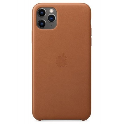 Накладка Leather Case для iPhone 11 Pro Max Brown
