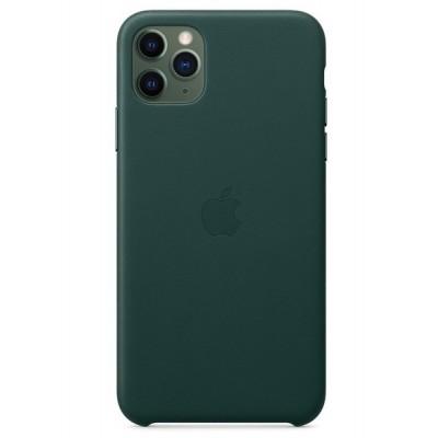 Накладка Leather Case для iPhone 11 Pro Max Green