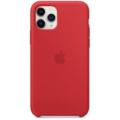 Накладка Silicone Case для iPhone 11 Pro Max (PRODUKT) Red Original