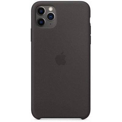 Накладка Silicone Case для iPhone 11 Pro Max Black