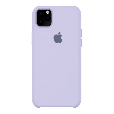Накладка Silicone Case для iPhone 11 Pro Max Lilac