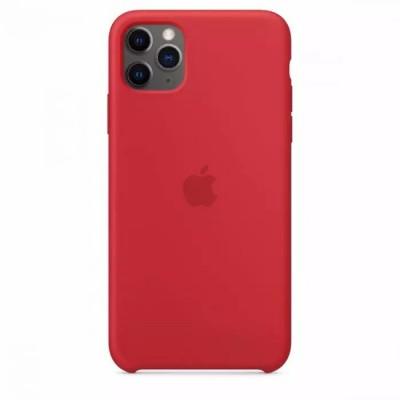 Накладка Silicone Case для iPhone 11 Pro Max Red