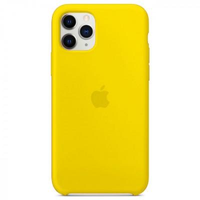 Накладка Silicone Case для iPhone 11 Pro New Yellow
