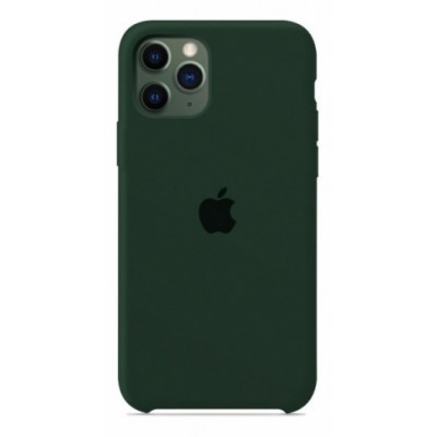 Накладка Silicone Case для iPhone 11 Pro Max Forest Green