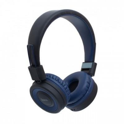 Навушники Bluetooth Hoco W16 Wireless Black-Blue