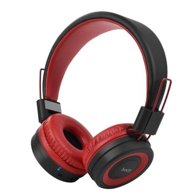 Навушники Bluetooth Hoco W16 Wireless Black-Red