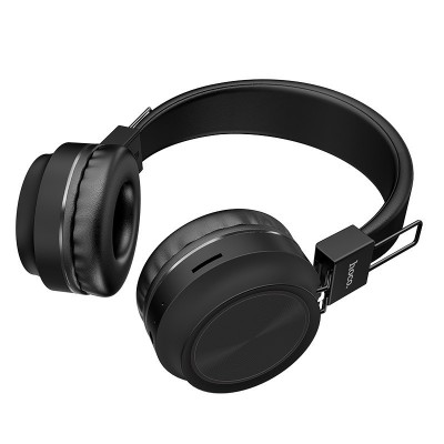 Навушники Bluetooth Hoco W25 Wireless Black