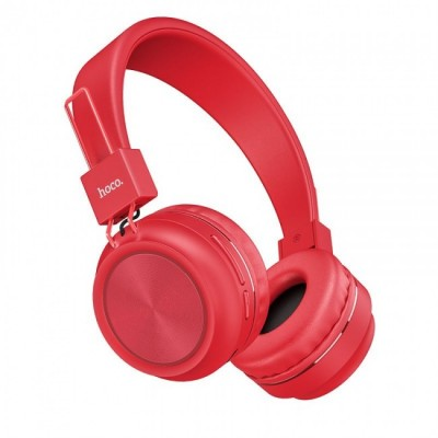 Навушники Bluetooth Hoco W25 Wireless Red