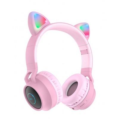 Навушники Bluetooth Hoco W27 Wireless Pink