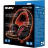 Навушники з мiкрофоном ігровi Sven AP-G855MV Black Red