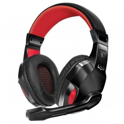 Навушники з мiкрофоном ігрові Sven AP-G857MV Black-Red