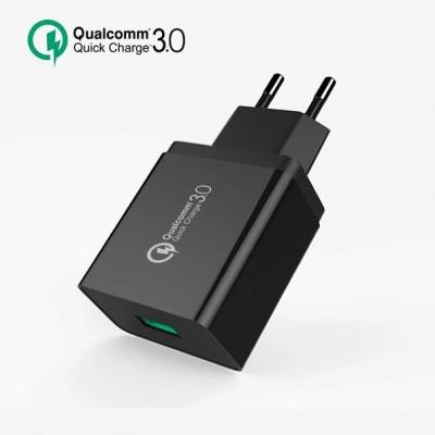 Мережевий зарядний пристрій 1xUSB Xiaomi MI Travel Charger(5V 2.5A) + кабель MicroUSB Black