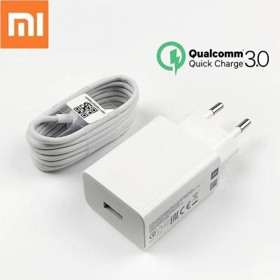 Мережевий зарядний пристрій 1xUSB Xiaomi MI Travel Charger(5V 2.5A) + кабель Type-C White