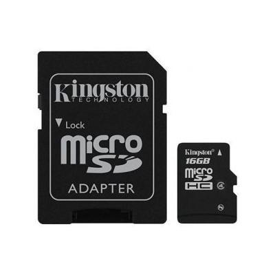 Карта пам'яті 32Gb Kingston +SD Class 4