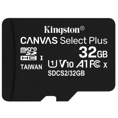 Карта пам'яті 32Gb Kingston Canvas Select Plus class 10 R100MB/s UHS-1